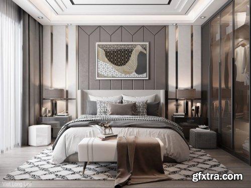 Modern Style Bedroom 600