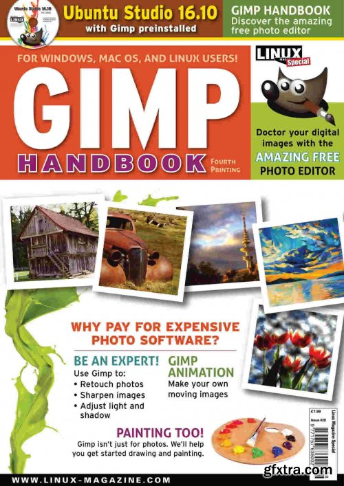 Linux Magazine Special Editions - GIMP Handbook Issue 28, 2020