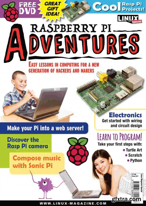 Linux Magazine Special Editions - Raspberry Pi Adventures, Issue 27, 2020