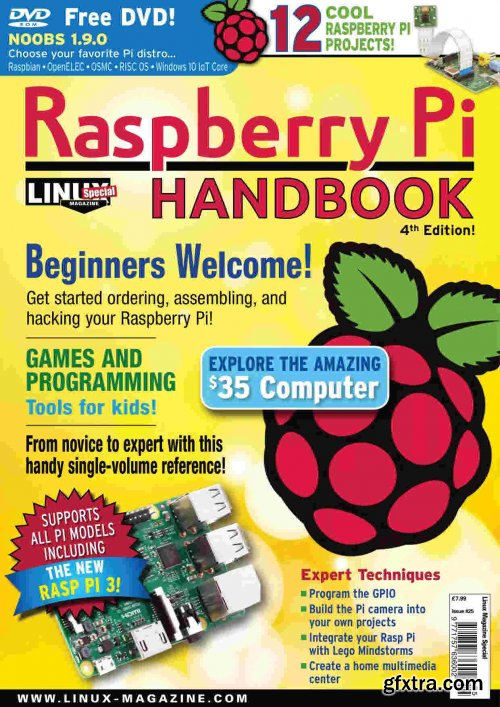 Linux Magazine Special Editions - Raspberry Pi Handbook, 4th Edition 2020