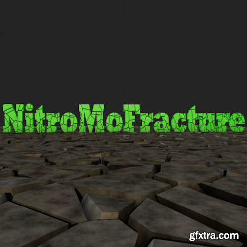 Nitro4D NitroMoFracture v1.06 for C4D R23 Working