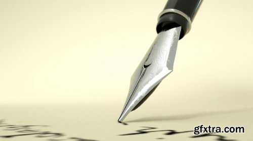 Fountain Pen Logo Intro 895977