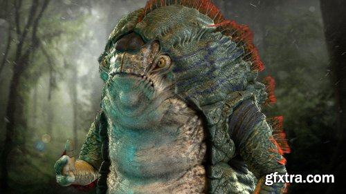 The Gnomon Workshop – Creating a Fantasy Creature 3D Character Creation in ZBrush and Maya with Babak Bina