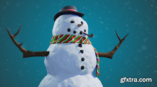 Let's build a snowman in Blender