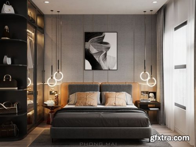 Modern Style Bedroom 601