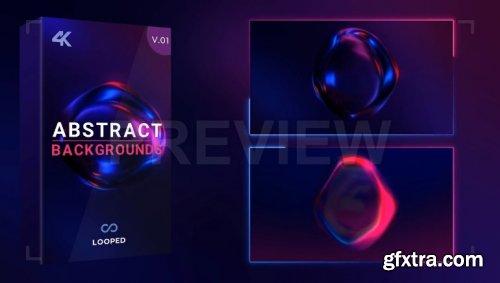 Dark Glowing Liquid Sphere Loop Pack 871878