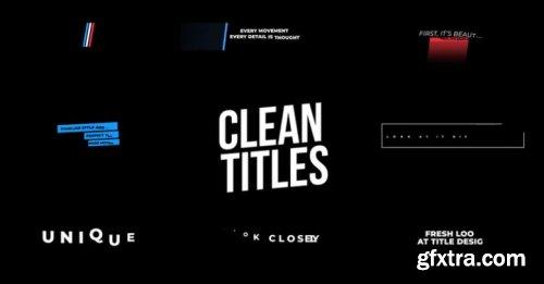 Clean Titles 896008