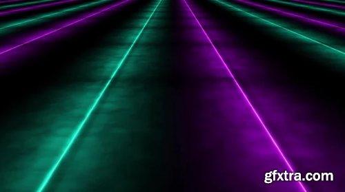 Endless Neon Floor Loop 871083