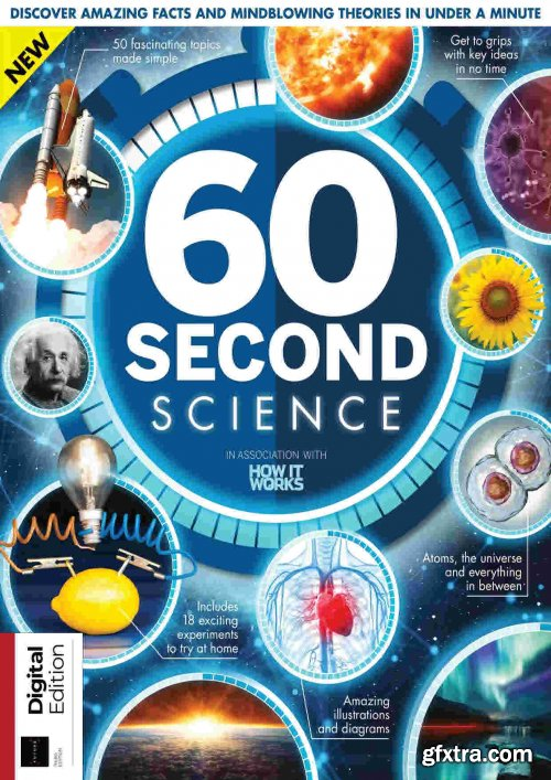 How It Works: 60 Second Science - 3rd Edition, 2021
