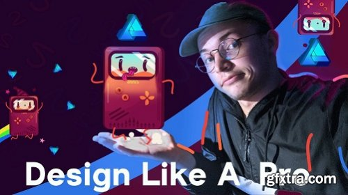 Create a Retro Style Game Boy Character in Affinity Designer