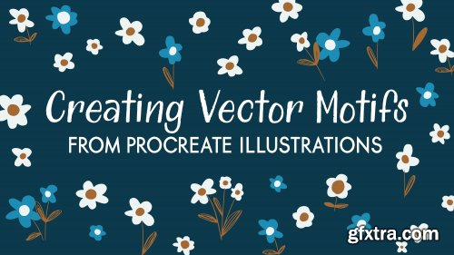 Creating Vector Motifs from Procreate Illustrations