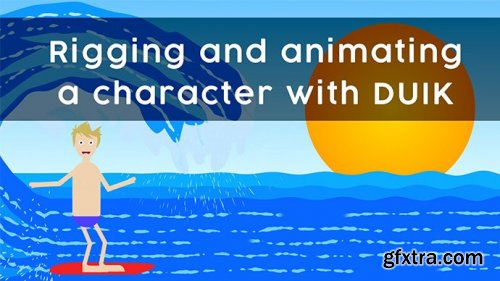 Rigging and animating a character in DUIK for After Effects
