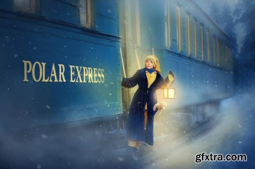 POLAR EXPRESS Editing Video by Anna Bondareva