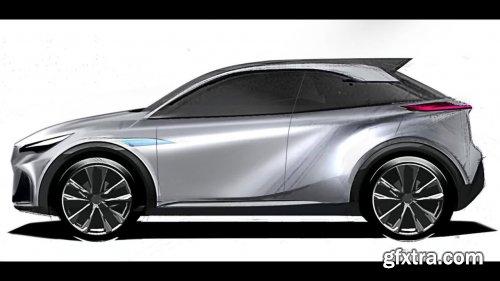 Digital Car Design Rendering: Sketch a Car in Photoshop