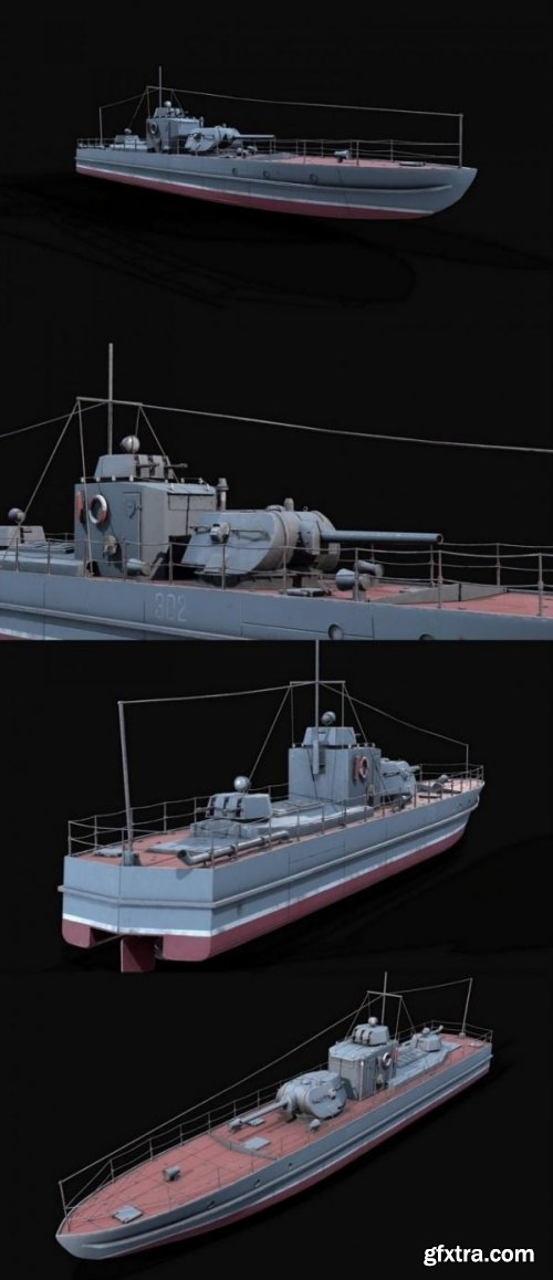 Project 1124 armored boat