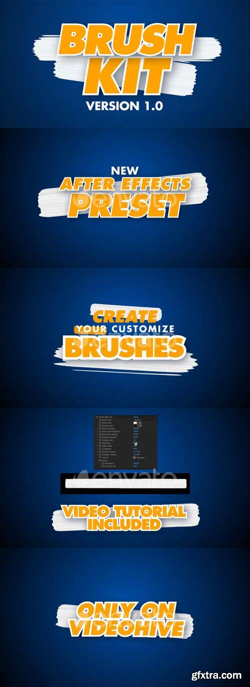 Videohive - Brush Kit Vr 1.0 - 27016927