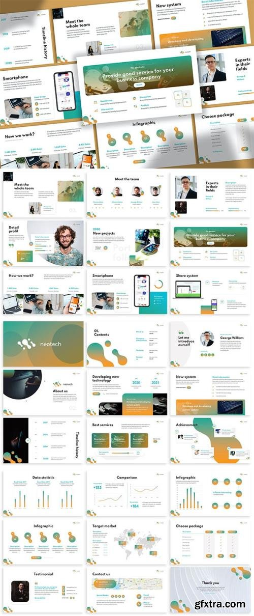 Neotech - Technology Keynote Template