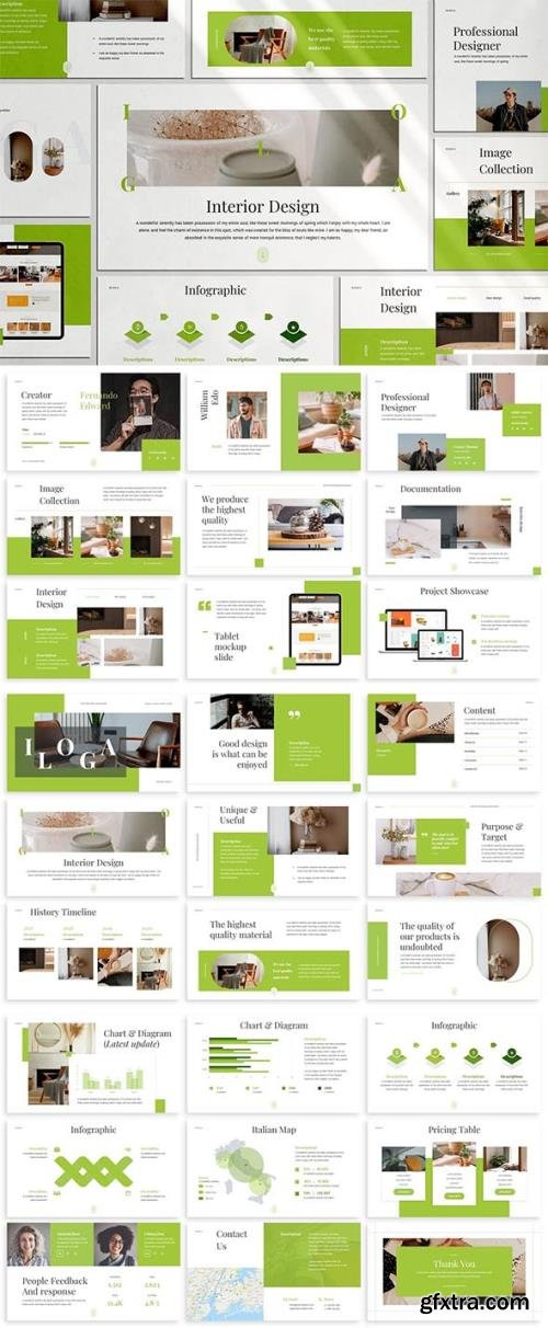 Iloga - Interior Design Keynote Template