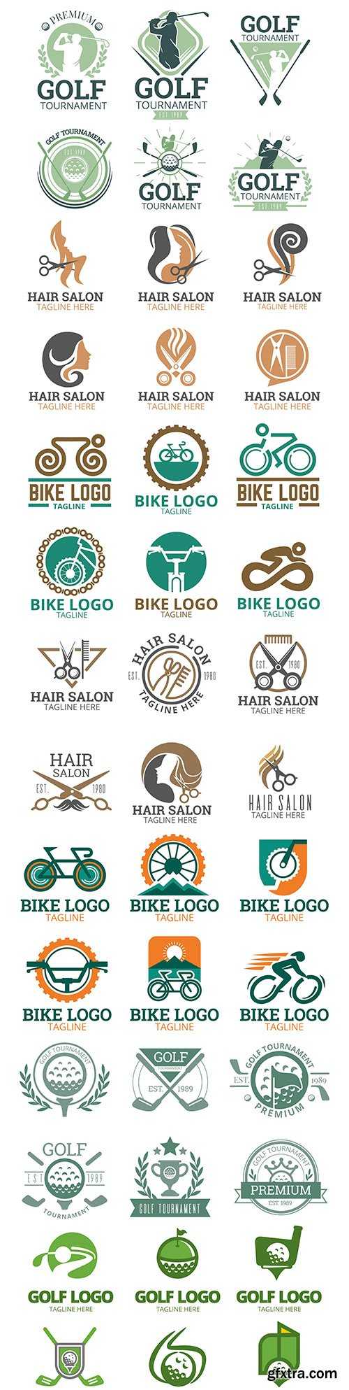 Brand name company business corporate logos design 5