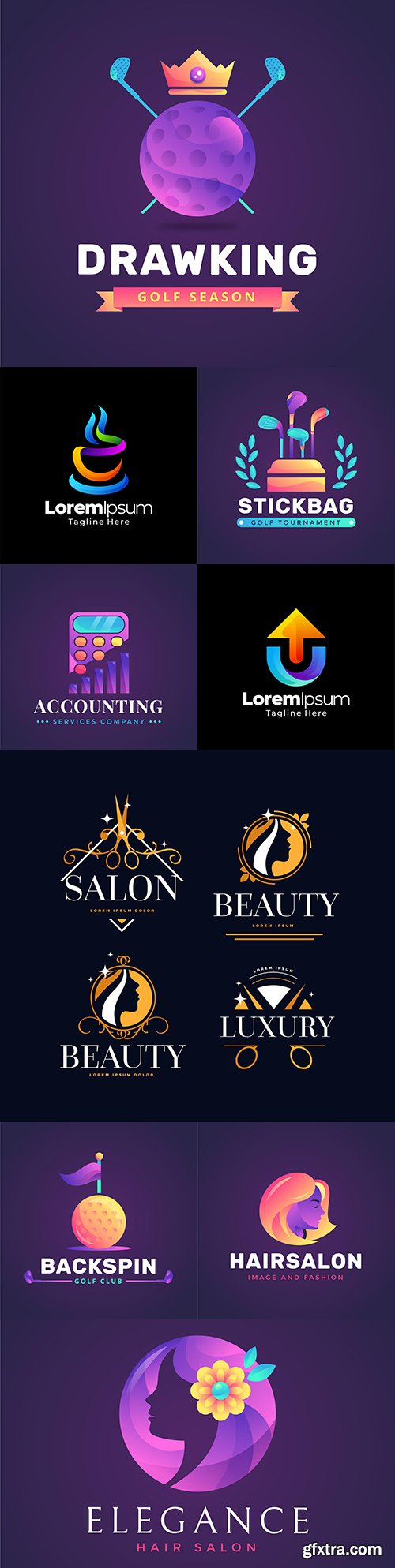Brand name company business corporate logos design 6