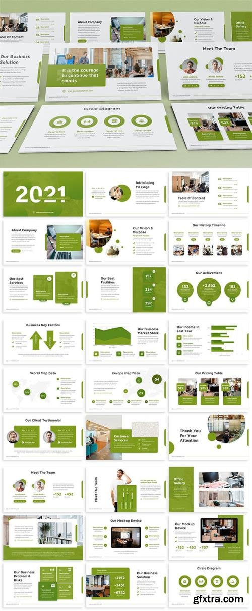 2021 Annual Report Keynote Template