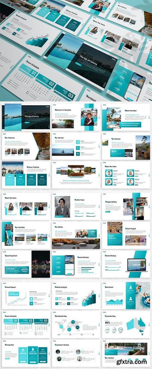 Paradiso - Vacation Powerpoint Template