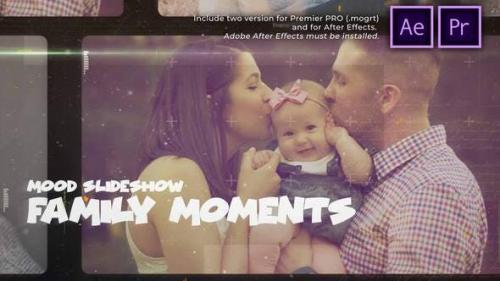 Videohive - Happy Family Moments Slideshow