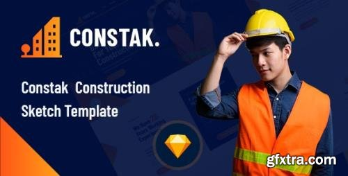 ThemeForest - Constak v1.0 - Construction Sketch Template - 29603603