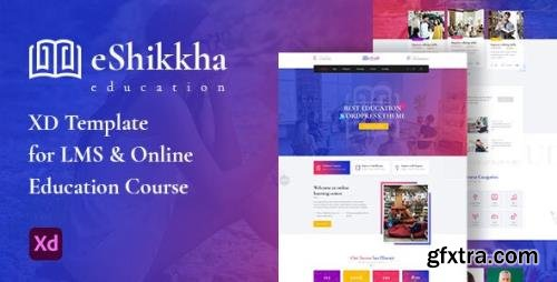ThemeForest - eShikkha v1.0 - LMS and Online Education XD Template - 29795504