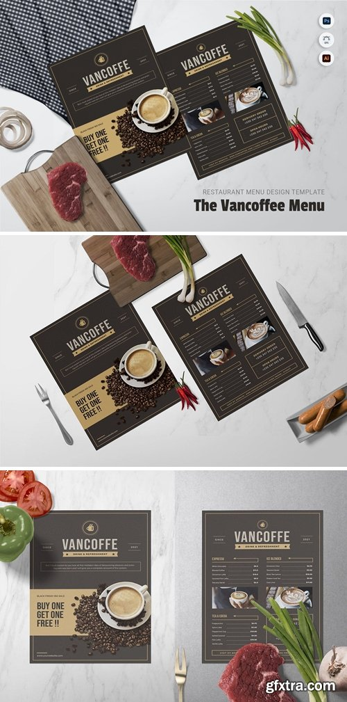 Vancoffee Restaurant Menu