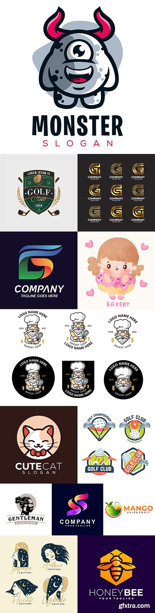 Brand name company business corporate logos design 10