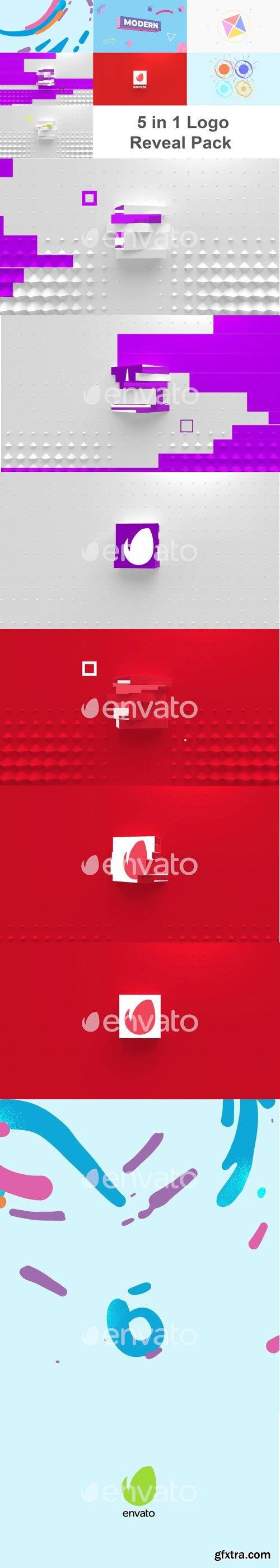 Videohive - Logo Reveal Pack - 28637113