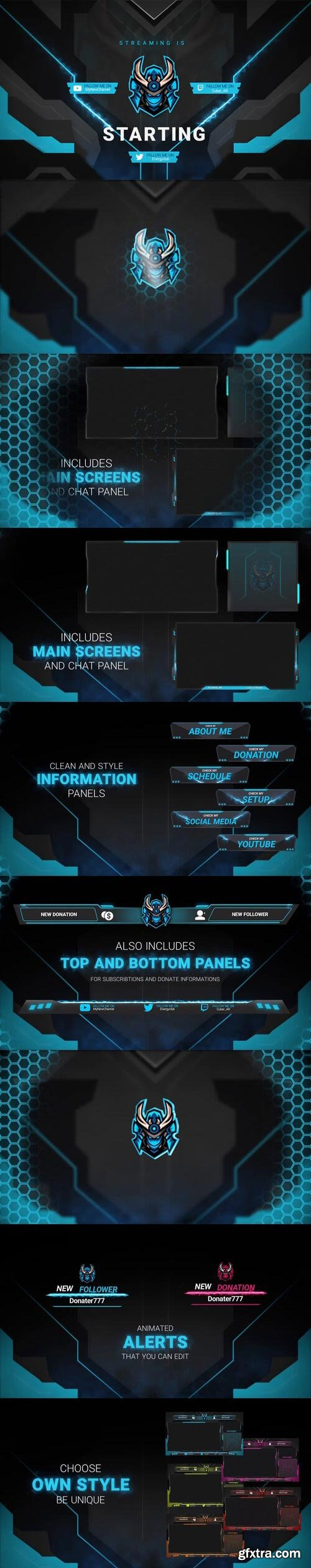 Videohive - Stream Package - 29167425