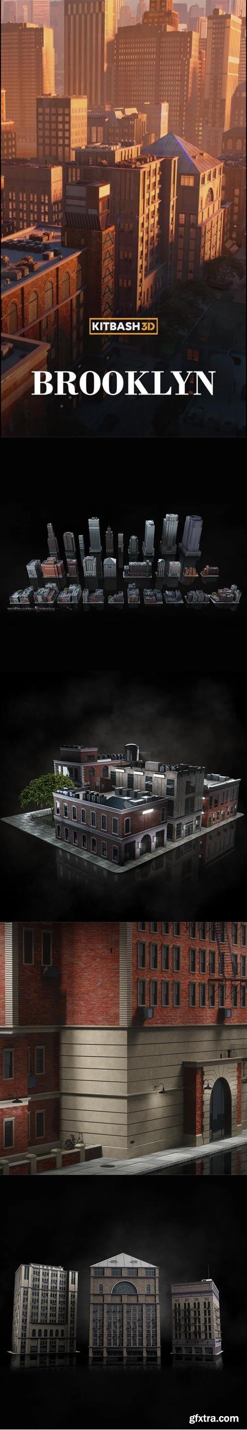 Kitbash3D - Brooklyn