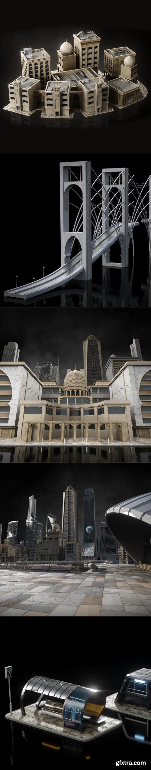 Kitbash3D - Neo Dubai