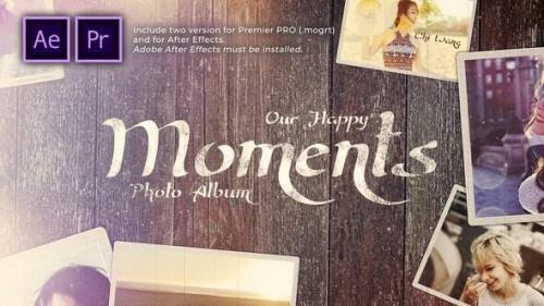 Videohive - Happy Moments Slideshow