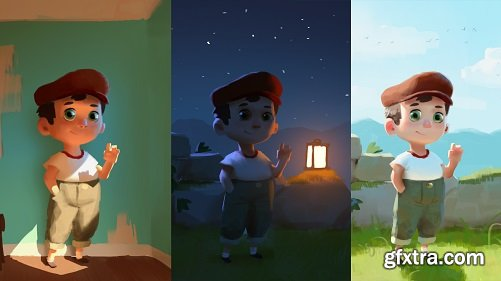 Learn the Lighting Principles for Digital Painting