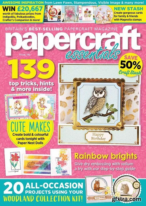 Papercraft Essentials - Issue 196, 2021