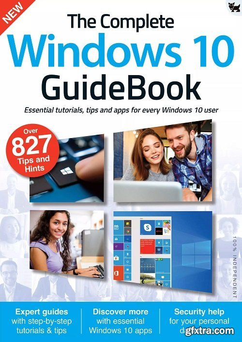 The Complete Windows 10 GuideBook - First Edition 2021