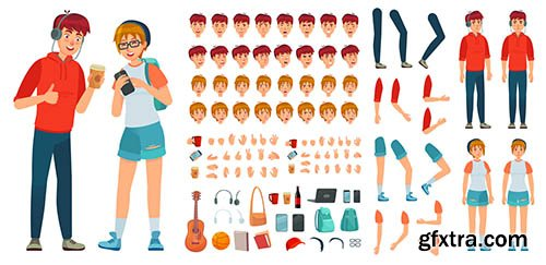 Teenager character constructor