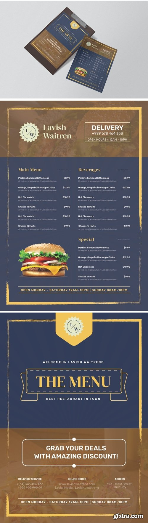 Lavist Waitrend Restaurant Menu