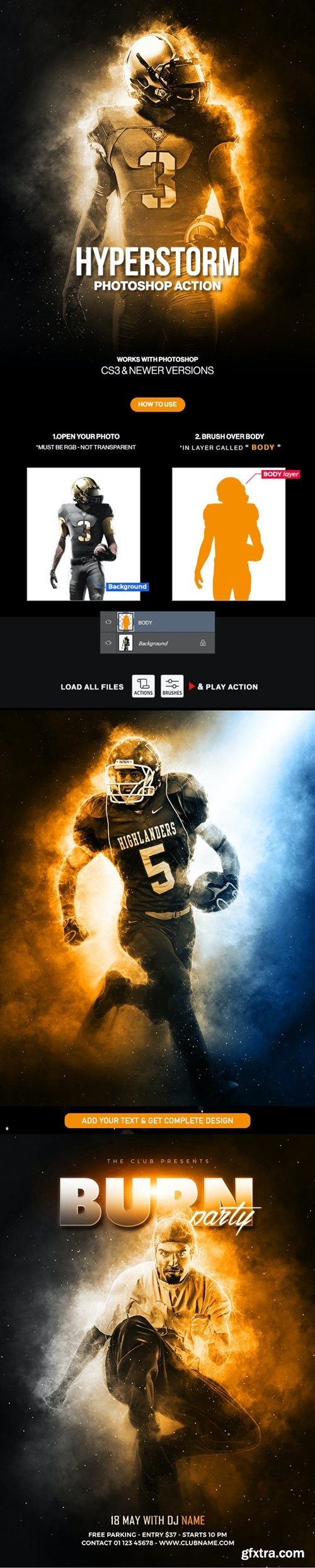 GraphicRiver - Hyperstorm Photoshop Action 30454156