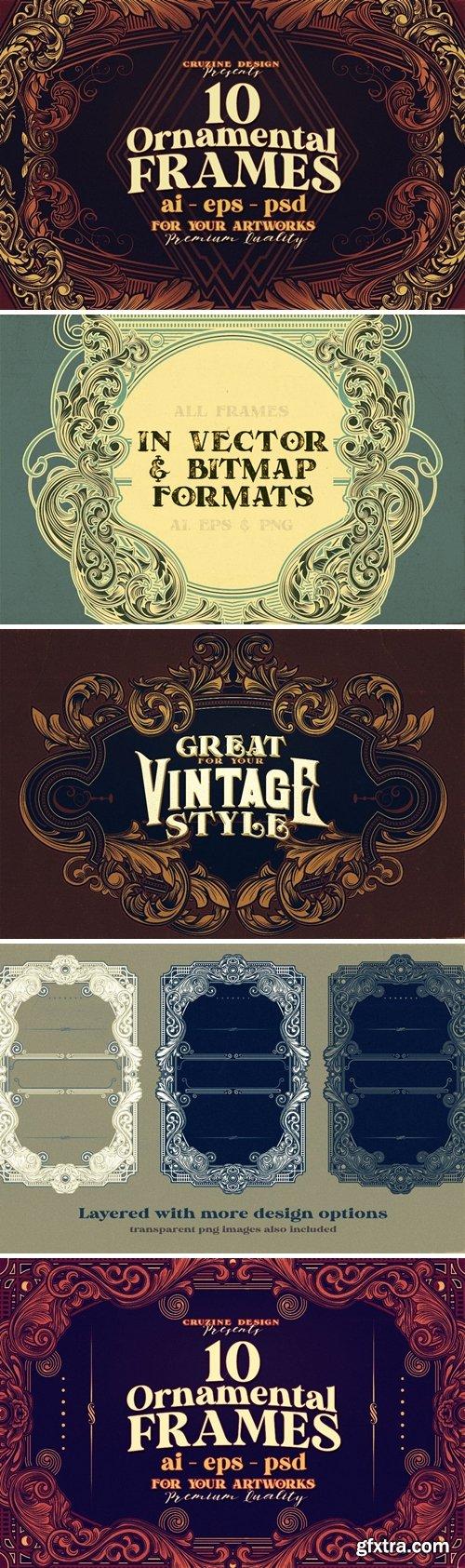 10 Frames Vol.8 - Victorian Ornament