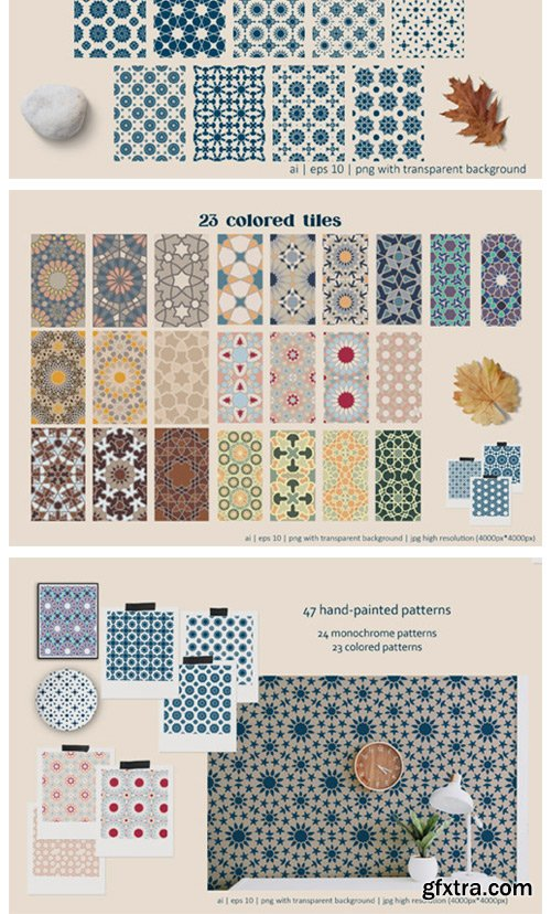 Arabesque: Islamic Art Patterns 8054765