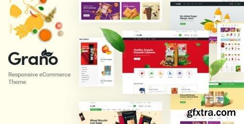 ThemeForest - Grano v1.0 - Organic & Food Responsive Prestashop Theme - 30619582