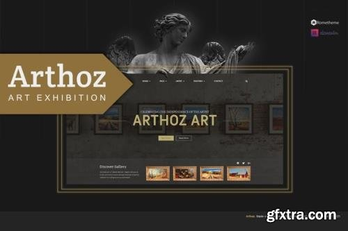 ThemeForest - Arthoz v1.0.2 - Art Exhibition Elementor Template kit - 30464938