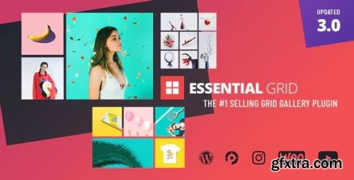 CodeCanyon - Essential Grid v3.0.11 - Gallery WordPress Plugin - 7563340