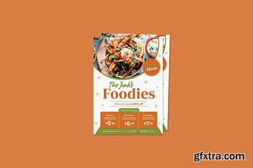 The Junk's Foodies Flyer
