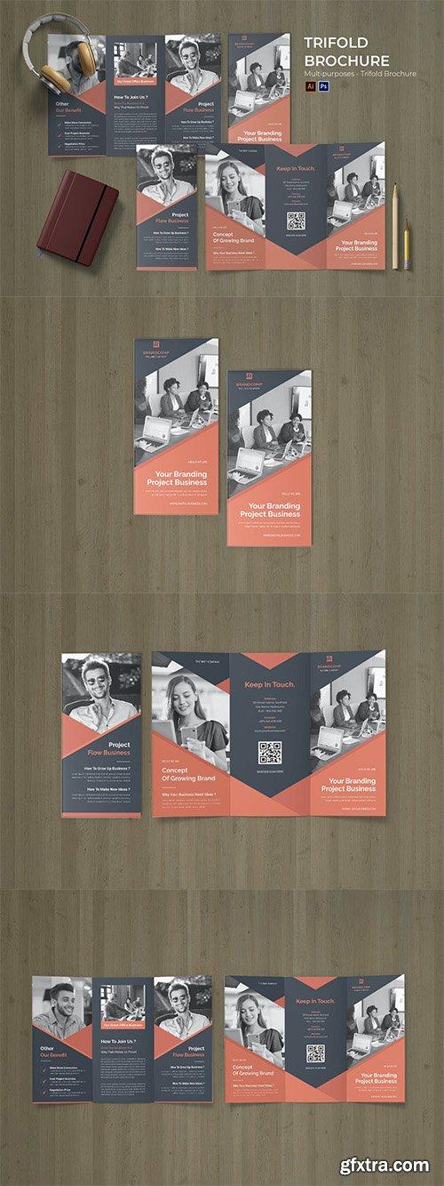 Branding Advertising Flyer Trifold Brochure