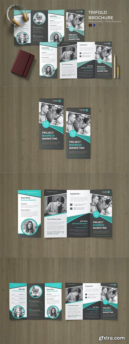 Concept Management Flyer Trifold Brochure
